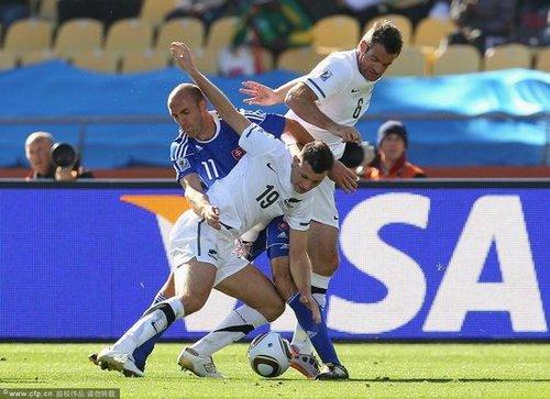 世界杯-新西兰93分钟进球 1-1战平斯洛伐克