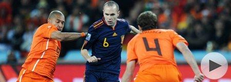 2010南非世界杯决赛 荷兰0-1西班牙 上半场