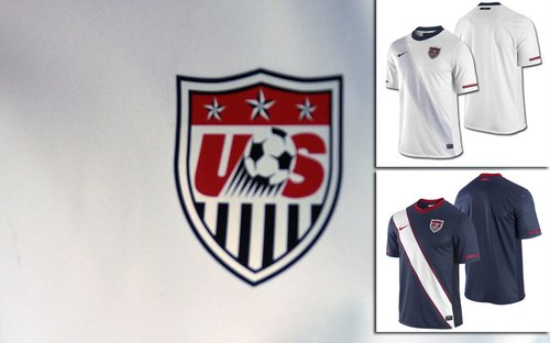 美国国家队球衣——延续白色传统