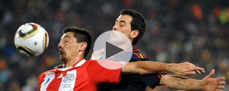 巴拉圭0-1西班牙 上半场