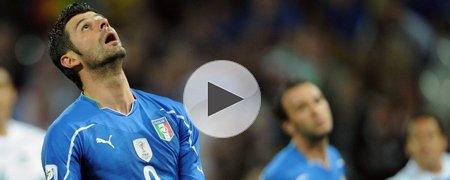 意大利1-1新西兰 上半场