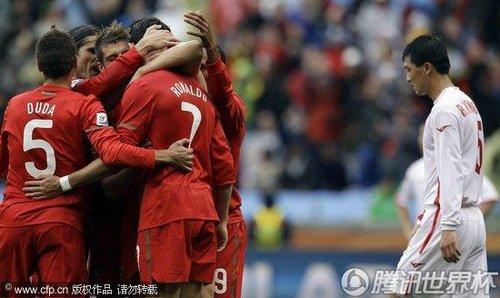 2010世界杯:朝鲜vs葡萄牙