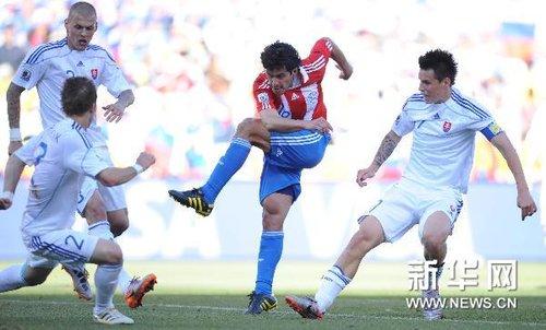 张路:巴拉圭拦截防守俱佳 南美球队值得期待