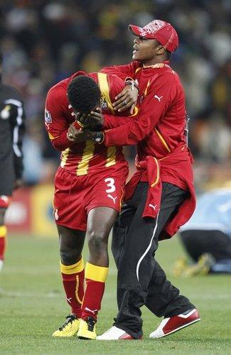 加纳坚称绝杀球有效 乌拉圭:这是一报还一报