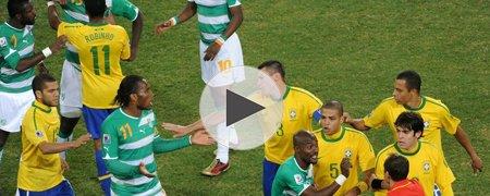 巴西3-1科特迪瓦 下半场