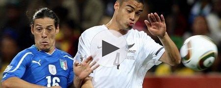 意大利1-1新西兰 下半场