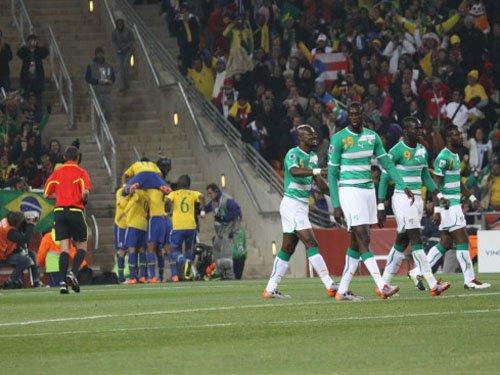 亚非球队注定难成大事 世界杯上他们只是配角