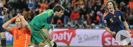 2010南非世界杯决赛 荷兰0-1西班牙 下半场