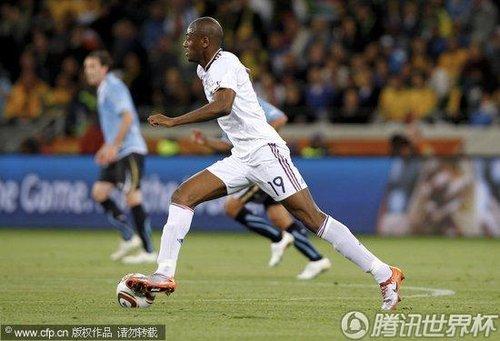 2010世界杯小组赛A组首轮:法国Vs乌拉圭