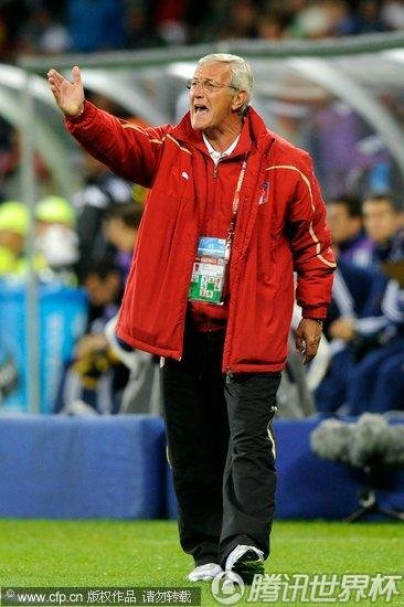 2010世界杯F组首轮:意大利1-1巴拉圭