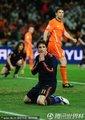 图文:荷兰0-1西班牙 卡普德维拉跪地祈祷