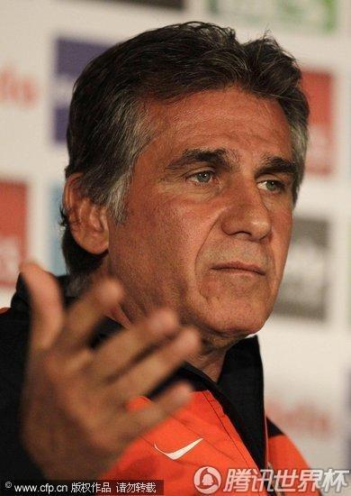 2010世界杯:葡萄牙止步16强 赛后召开新闻发布会