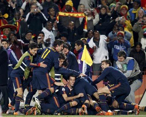西班牙60年最辉煌一战 这一刻他们不再是软蛋