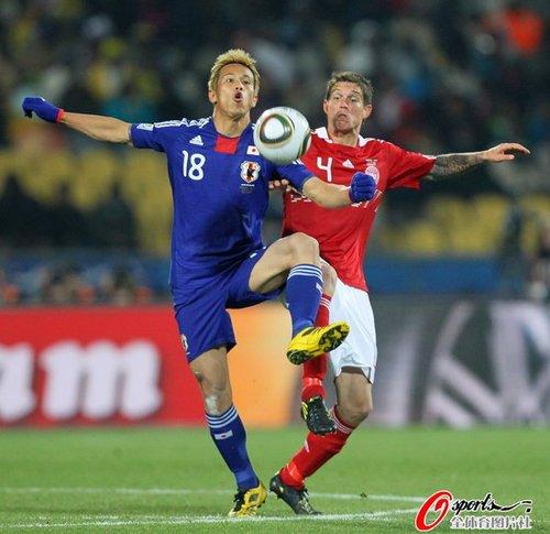 本田圭佑:赛前预感能进球 教练一战术有成效