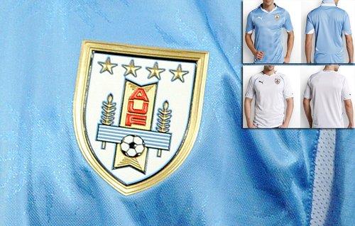 乌拉圭国家队球衣——延续经典天蓝色