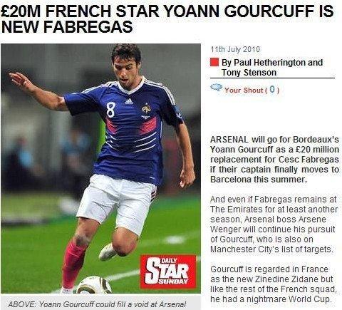 阿森纳瞄准法国足球先生 新齐达内或接班小法