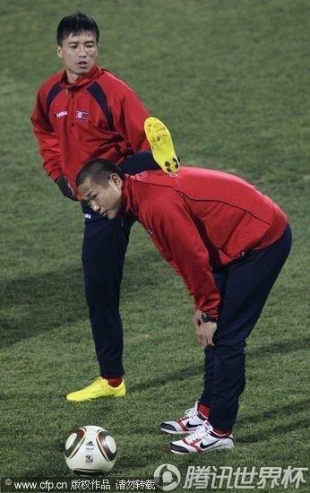 2010世界杯G组前瞻:朝鲜无缘16强 训练备战最后一役