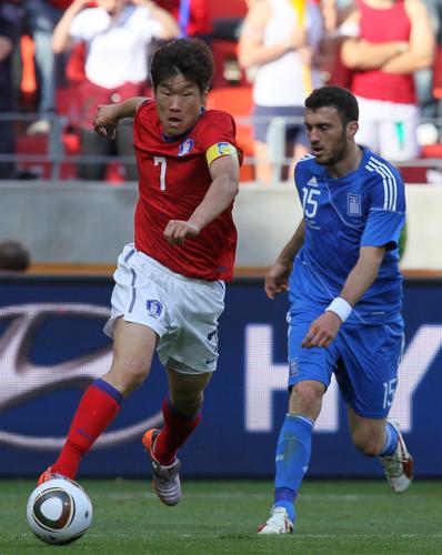 韩国欲复制02世界杯传奇 朴智星:必晋级16强