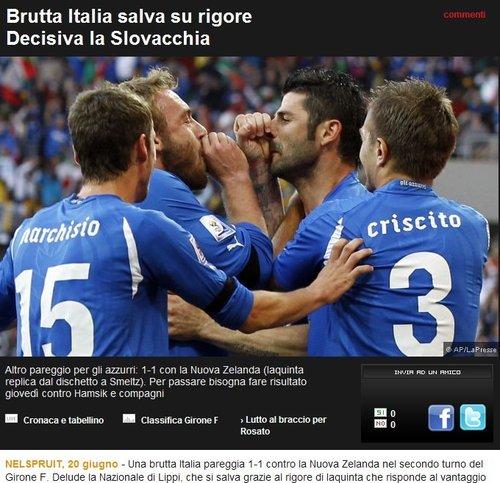 罗马体育报:糟糕的一场平局 决定权交给末战