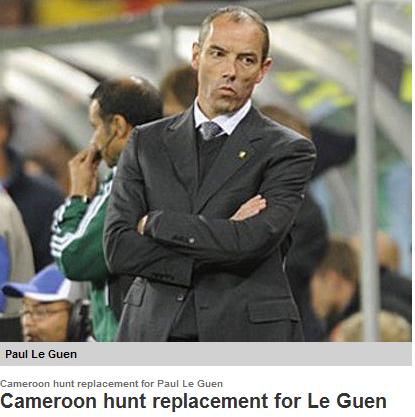 马特乌斯或成喀麦隆主帅 用四年欲成足球强国