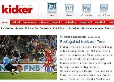 踢球者:葡萄牙献上礼花表演 大胜后出线在望