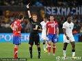 图文:塞尔维亚0-1加纳 卢科维奇吃牌