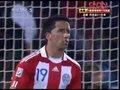 视频:点球大战巴拉圭第2罚 巴里奥斯罚进