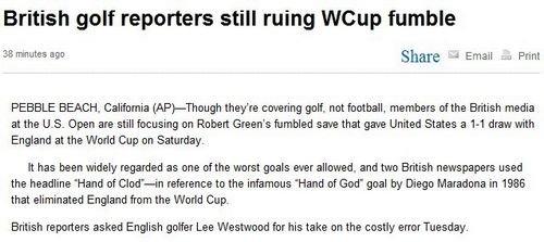 伍兹感谢格林给美国送礼 为世界杯跟同行斗嘴