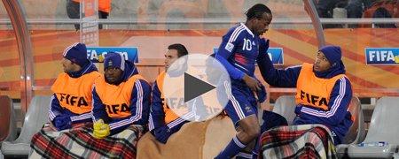 法国0-2墨西哥 上半场
