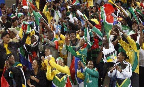 """让我们齐声呼喊""""Laduma!"""" 唱响南非世界杯"""