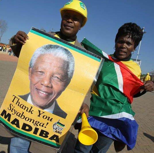 南非世界杯 注定因曼德拉伟大