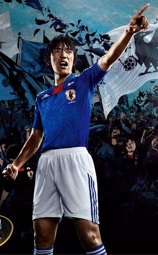 日本国家队球衣——注入更多传统文化