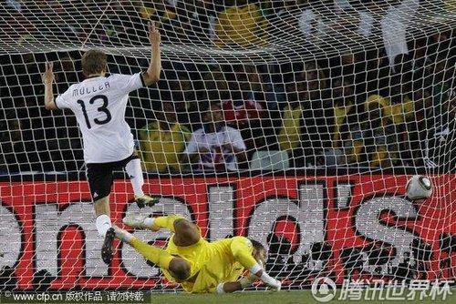2010世界杯1/8决赛:德国4-1力克英格兰