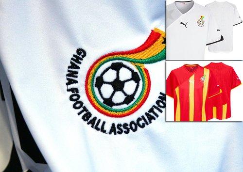 """加纳国家队球衣——""""黑色之星"""""""