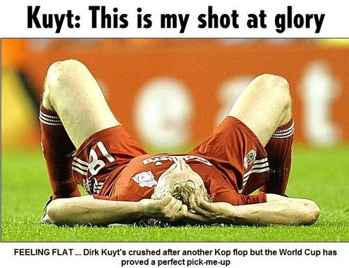 库伊特:范佩西不比鲁尼梅西差 荷兰必然夺冠