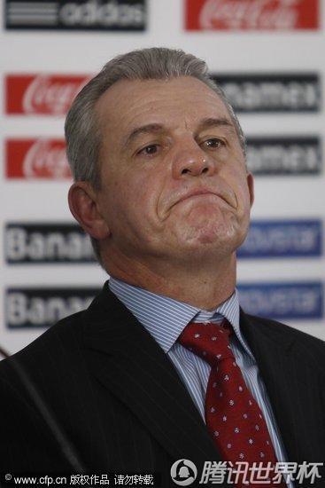 2010世界杯:墨西哥主帅阿吉雷宣布辞职