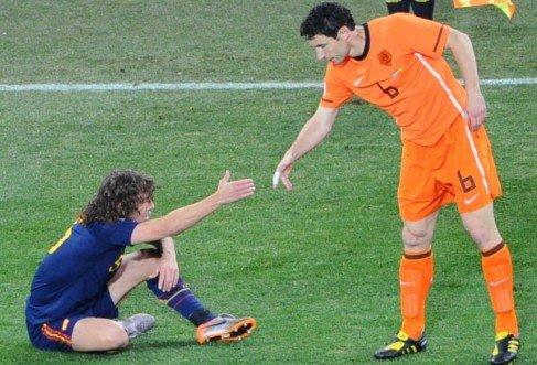 意外换人毁无名领袖 荷兰三朝元老谢幕世界杯