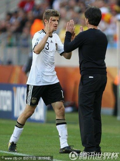 2010世界杯小组赛D组次轮:德国0-1塞尔维亚