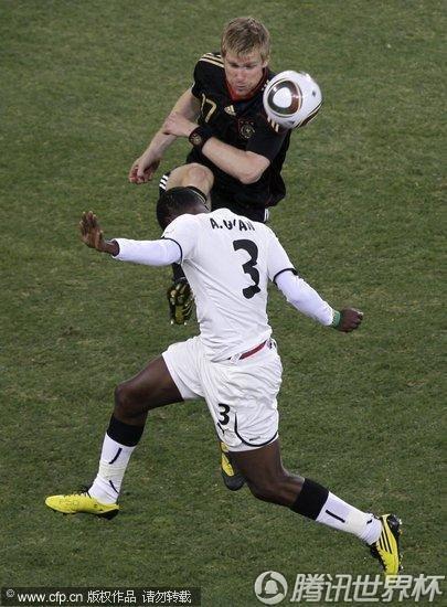 2010世界杯:加纳vs德国