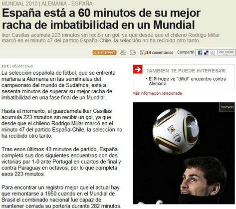 西班牙冲击60年尘封纪录 卡西距传奇差一小时