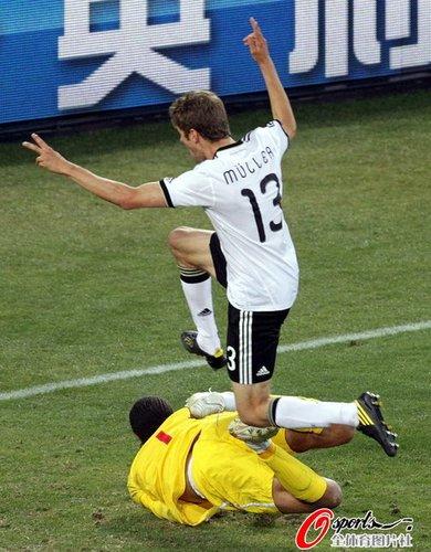 谁说德国只会机械赢球 这样的日耳曼也叫艺术