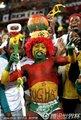 图文:加纳0-1德国 加纳球迷激情助威