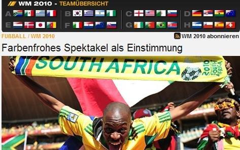 德国电视一台:盛宴已开始 曼德拉是唯一遗憾