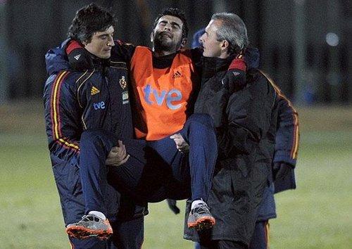 西班牙突传噩耗 后防大将重伤将告别世界杯