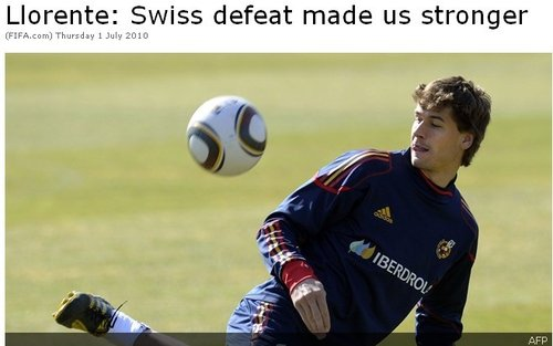 FIFA专访略伦特:瑞士让我们清醒 首秀很紧张