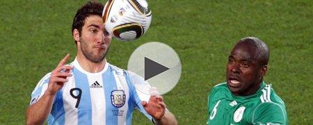 阿根廷1-0尼日利亚 下半场