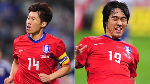 热身赛-日本0-2韩国 朴智星单刀朴周永点杀