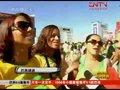 视频:球迷庆祝巴西出线 更加期待球队进球