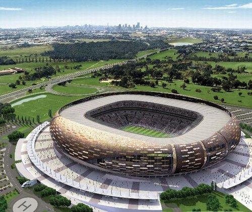 球场交通之约翰内斯堡足球城体育场