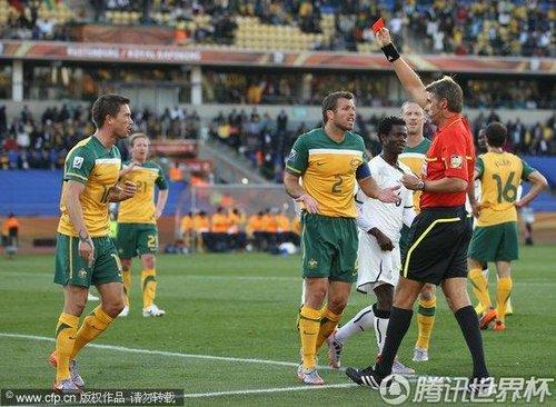 2010世界杯D组次轮:澳大利亚Vs加纳